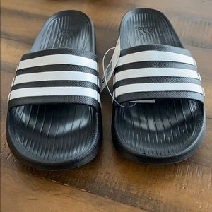 New Adidas Men's Duramo Slides
